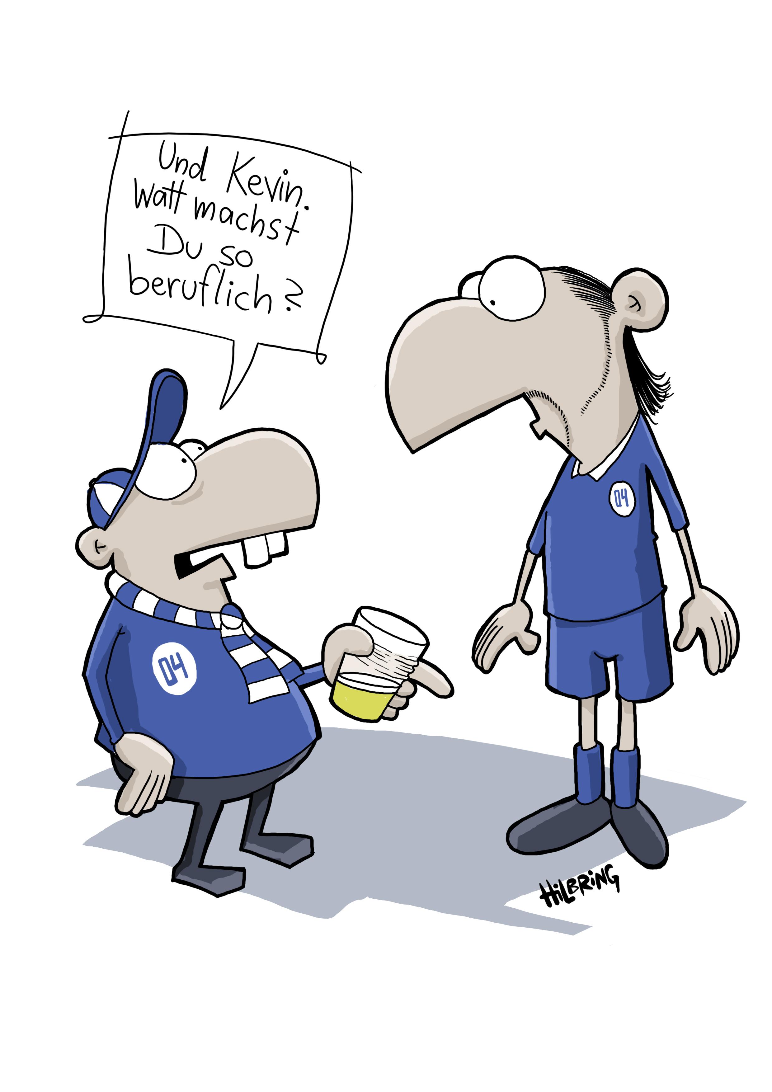 Schalke Cartoon