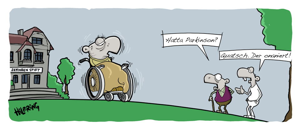 Parkinson Schon Doof