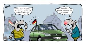 autofahne