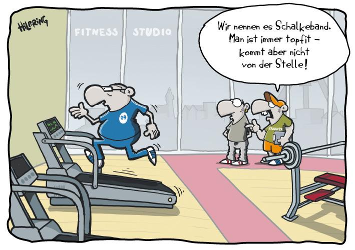 Fitness Comic Lustig