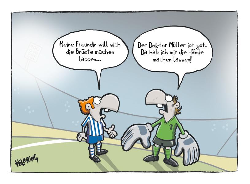 RevierSport Cartoon… | SCHÖN DOOF!