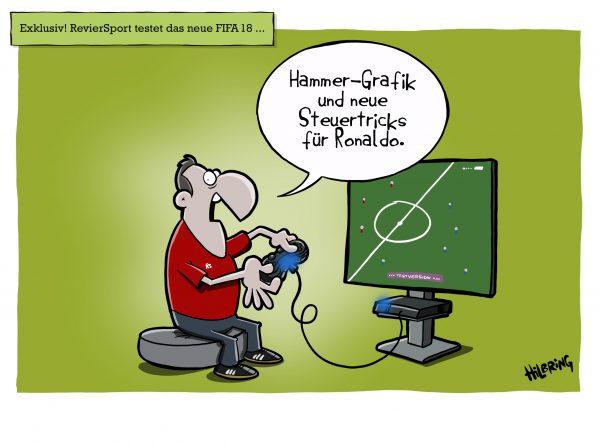 Der aktuelle RevierSport Cartoon …
