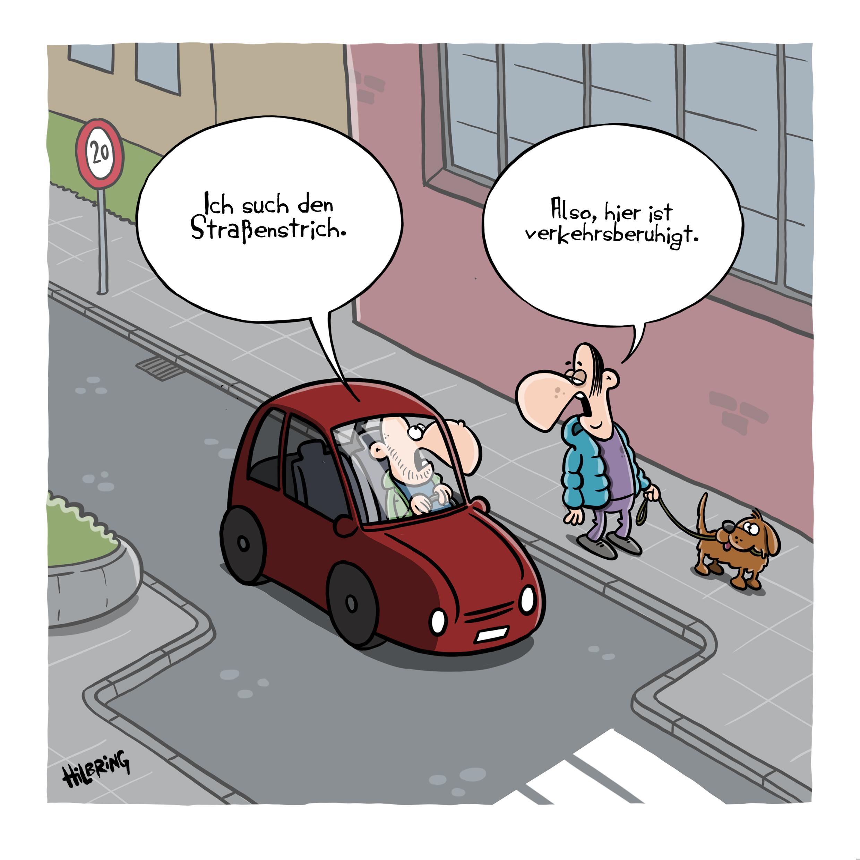 strassenstrich - SCHÖN DOOF!
