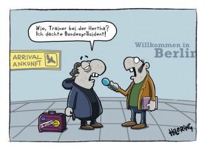 Rehagel, Hertha, Berlin, Essen, Reviersport, Oli, Fußball, Trainerwechsel